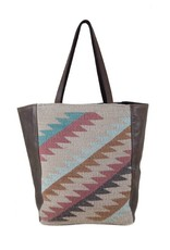 Manos Zapotecas Copper Sunset Market Tote