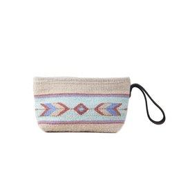 Manos Zapotecas Sage + Sand Rocio Clutch