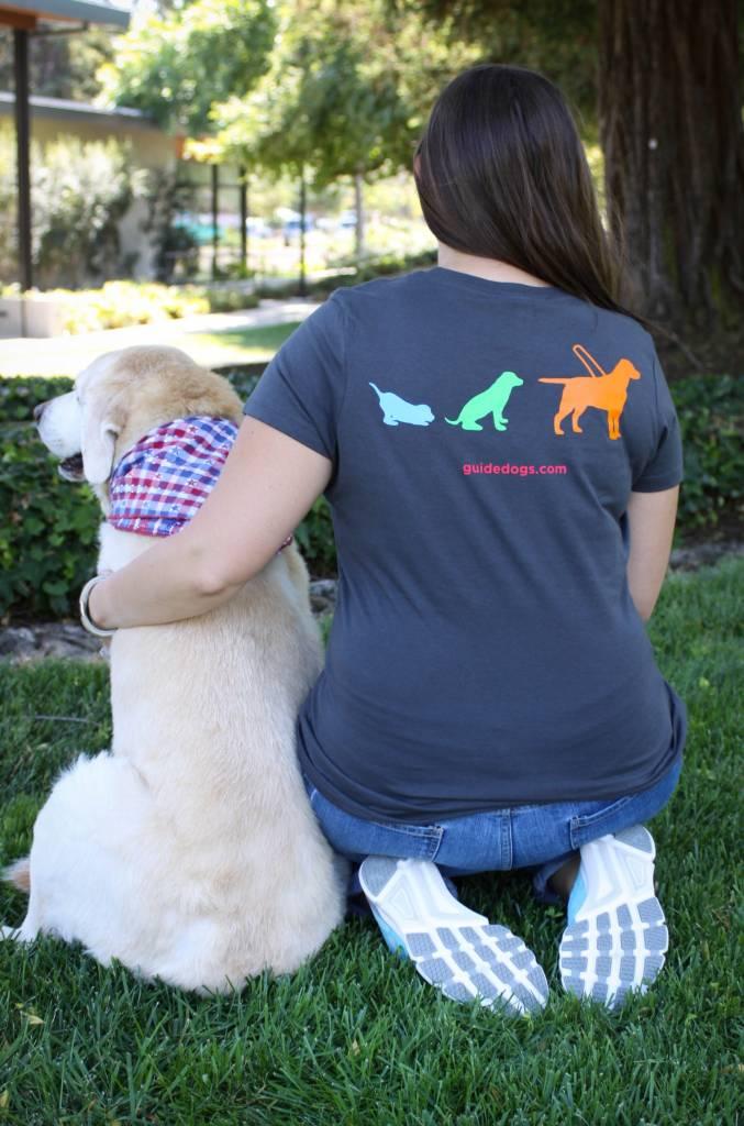 Women's 3 dog tee (regular fit)