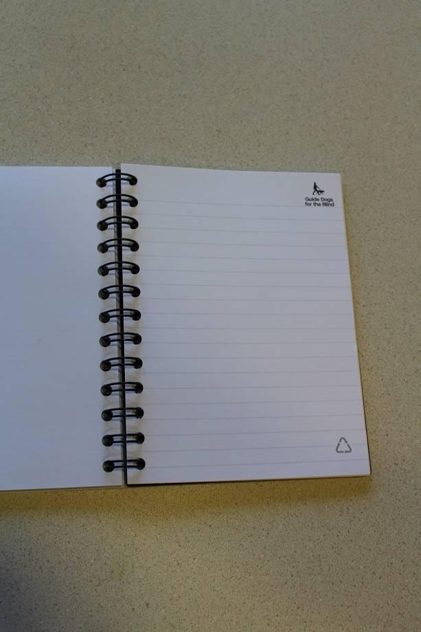 5x7 spiral notebook