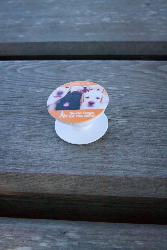 Pup Socket phone grip/kickstand
