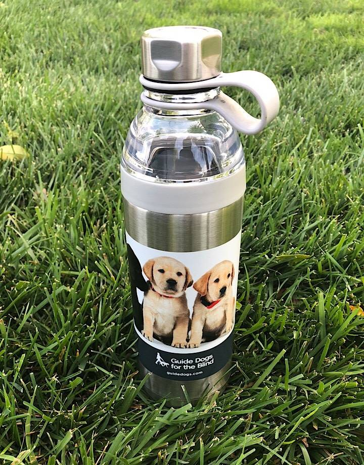 Stainless Steel Waterbottle with puppies