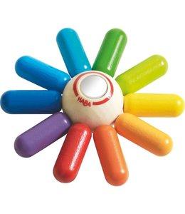 Haba Clutching Toy, Rainbow Sun
