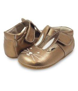 Livie & Luca Molly Crib Shoes, Copper