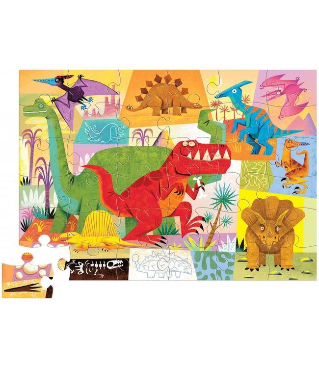 crocodile creek dinosaur puzzle