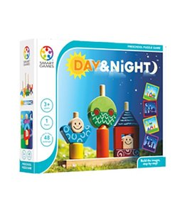 Smart Toys and Games Day & Night Preschool Puzzle Game