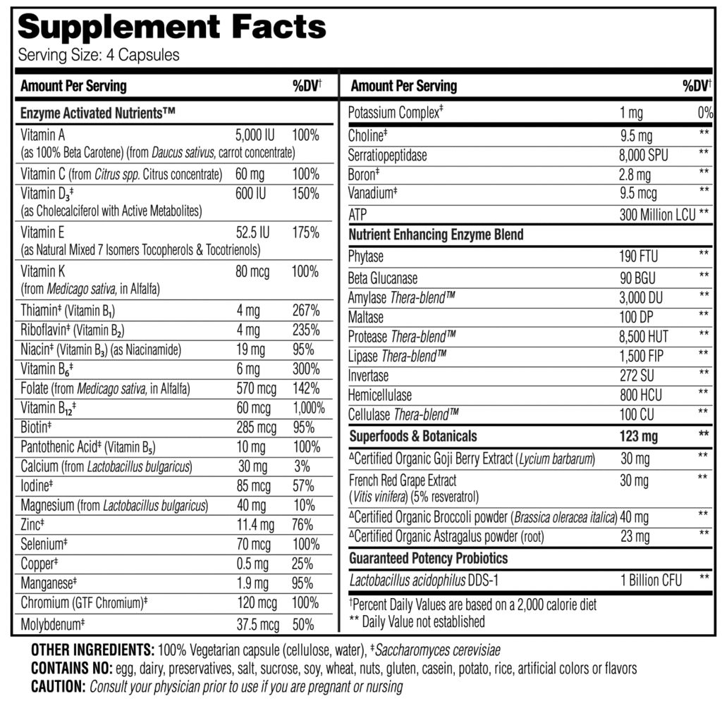 Enzymedica Enzymedica  Enzyme Nutrition Women's 50+ 120 ct