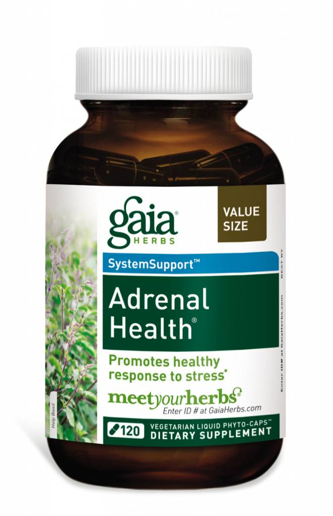 Gaia Herbs Adrenal Health 120 ct