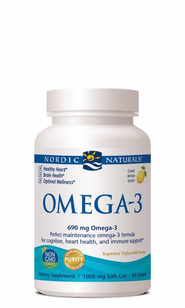 Nordic Naturals Nordic Naturals Omega-3 690 mg 60 ct