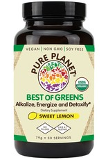 Pure Planet Pure Planet Best of Greens: Sweet Lemon 30 Servings