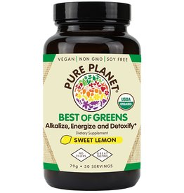 Pure Planet Best of Greens: Sweet Lemon 30 Servings