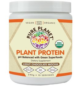 Pure Planet Chocolate Mocha Plant Protein 10 Servings