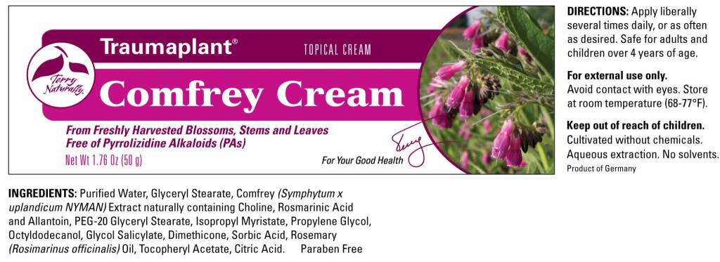 Europharma Terry Naturally Comfrey Cream