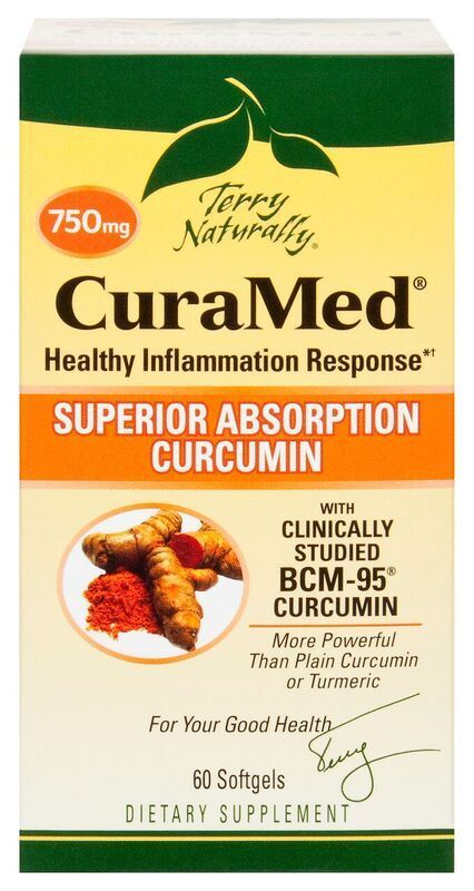 Europharma Terry Naturally CuraMed 750mg 60 ct