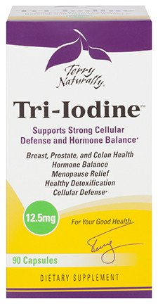 Europharma Terry Naturally Tri-Iodine 12.5mg 90 ct
