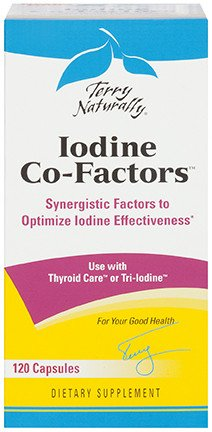 Europharma Terry Naturally Iodine Co-Factors 120 ct