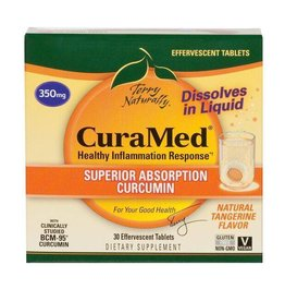 Europharma Terry Naturally CuraMed Effervescent 30 ct