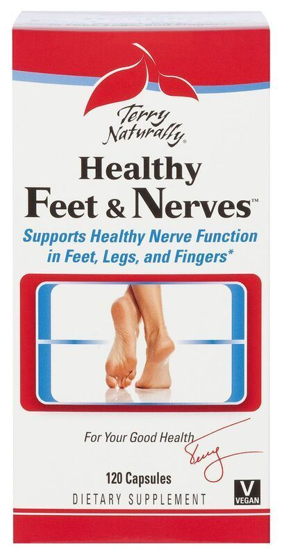 Europharma Terry Naturally Healthy Feet & Nerves 120 ct