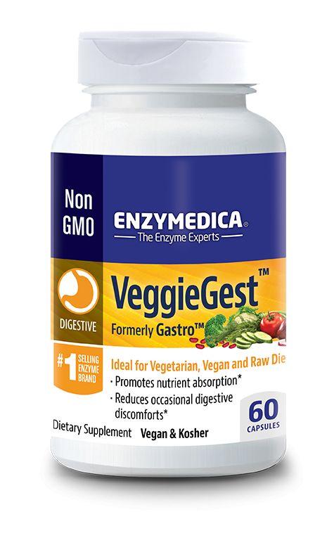 Enzymedica VeggieGest 60ct