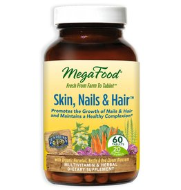MegaFood Skin, Nails & Hair 60 ct