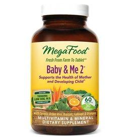 MegaFood Baby & Me 2 60 ct