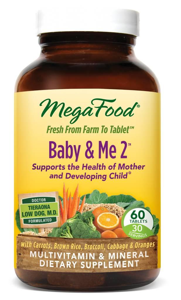 MegaFood MegaFood Baby & Me 2 60 ct
