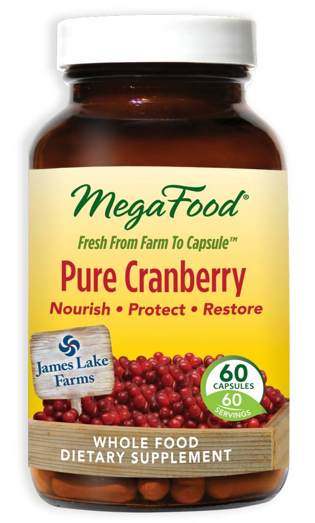 MegaFood Pure Cranberry 60 ct
