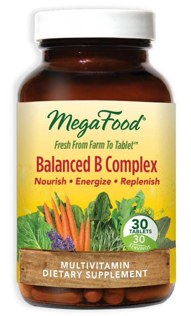 MegaFood Balanced B Complex 30 ct