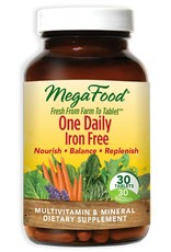 MegaFood One Daily Iron Free 30 ct