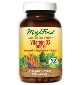 MegaFood Vitamin D3 2000 IU 90 ct