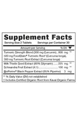 MegaFood Turmeric Strength™ for Liver 60 ct