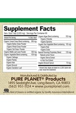 Pure Planet Pure Planet Best of Greens: Sweet Lemon 60 Servings