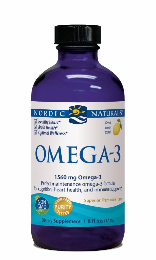 Nordic Naturals Nordic Natural Omega-3 1560 mg Lemon 8oz