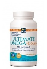 Nordic Naturals Ultimate Omega + CoQ10 120 Ct