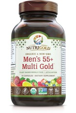 Nutrigold Men's 55+ Organic Multivitamin 90ct