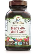 Nutrigold Men's 40+ Organic Multivitamin 90ct