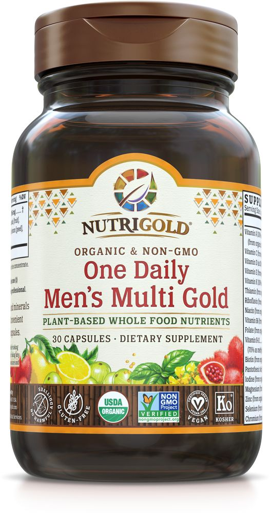 Nutrigold Men's Organic 1 Daily 30ct
