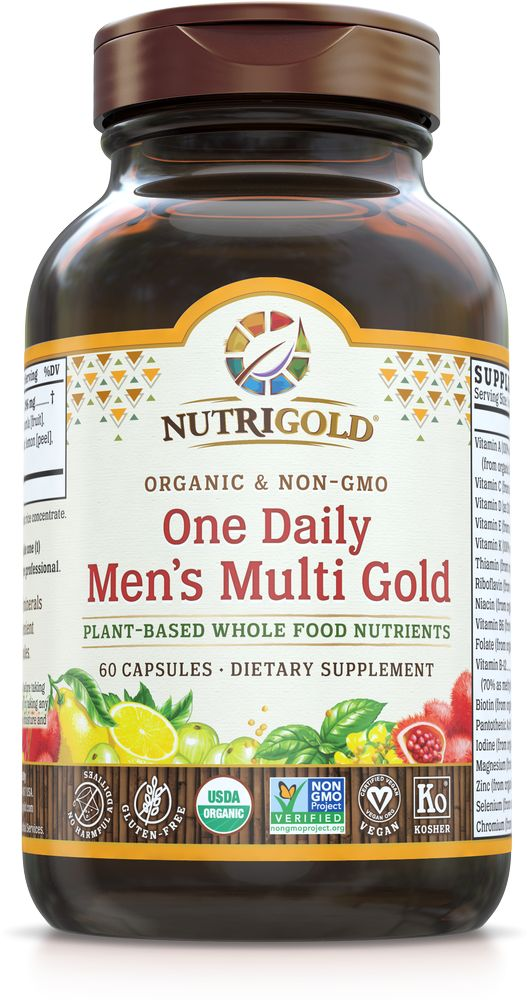 Nutrigold Men's Organic 1 Daily 60ct