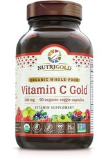 Nutrigold Vitamin C Gold 240 mg 90ct