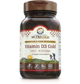 Nutrigold Vitamin D3 2,000 IU 180ct