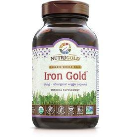 Nutrigold Iron Gold 18mg 60ct