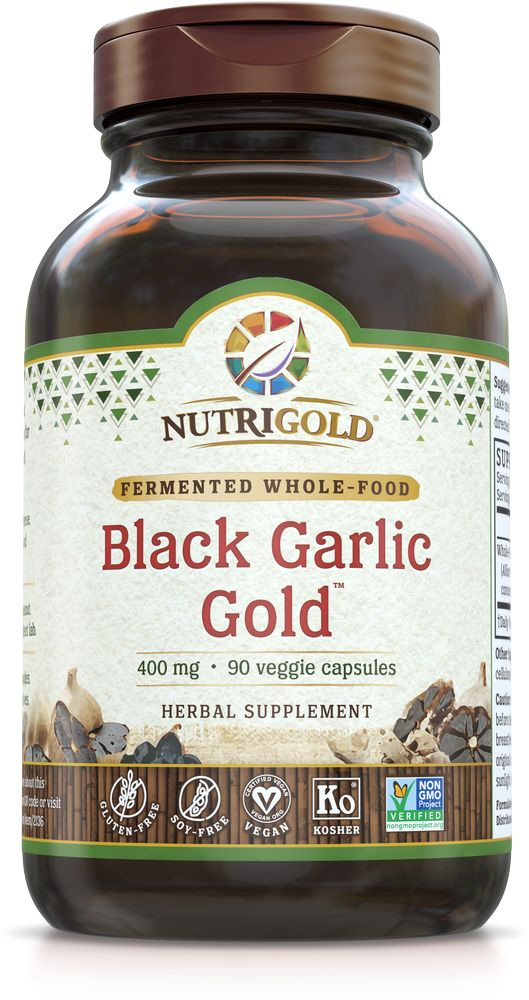 Nutrigold Black Garlic 400mg 90ct