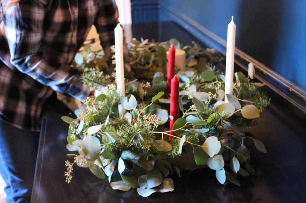 Create Your Own Advent Wreath