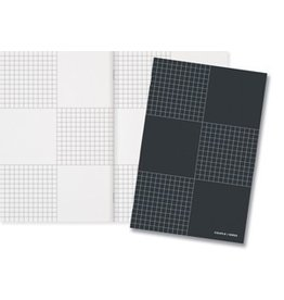 Couple d'idees In Margin Series: Checkered Notebook