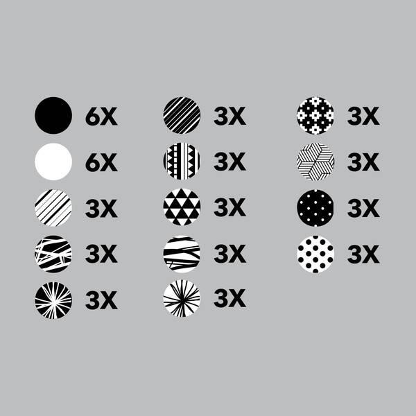 Pico tatoo Décalcomanies - Cercles Graphiques