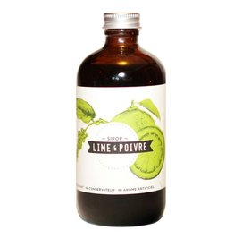 Charlatans Sirop Naturel - Lime poivre