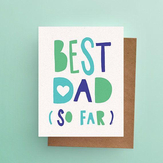Darveelicious Best Dad Carte