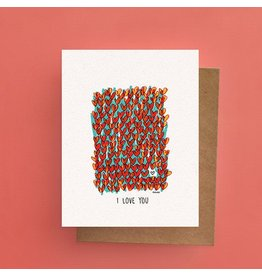 Darveelicious Field of Hearts Carte
