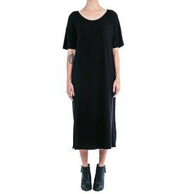 Ménage à Deux Robe T-shirt Longue - Noire