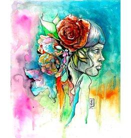 Jimmy Baptiste Ms Rose Print